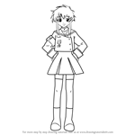 How to Draw Misaki Suzuhara from Angelic Layer