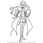 How to Draw Suzuka from Angelic Layer