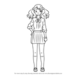 How to Draw Anaru from Anohana