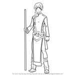 How to Draw Cheng-Long Liu Full Body from Ao No Exorcist