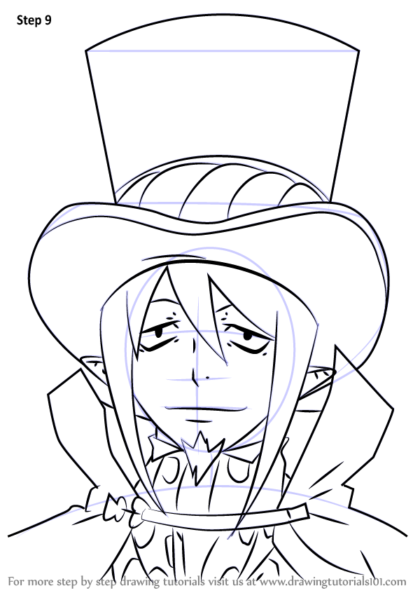Learn How To Draw Mephisto Pheles From Ao No Exorcist Ao