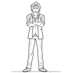 How to Draw Ryuji Suguro from Ao No Exorcist