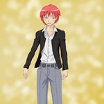 How to Draw Karma Akabane from Assassination Classroom