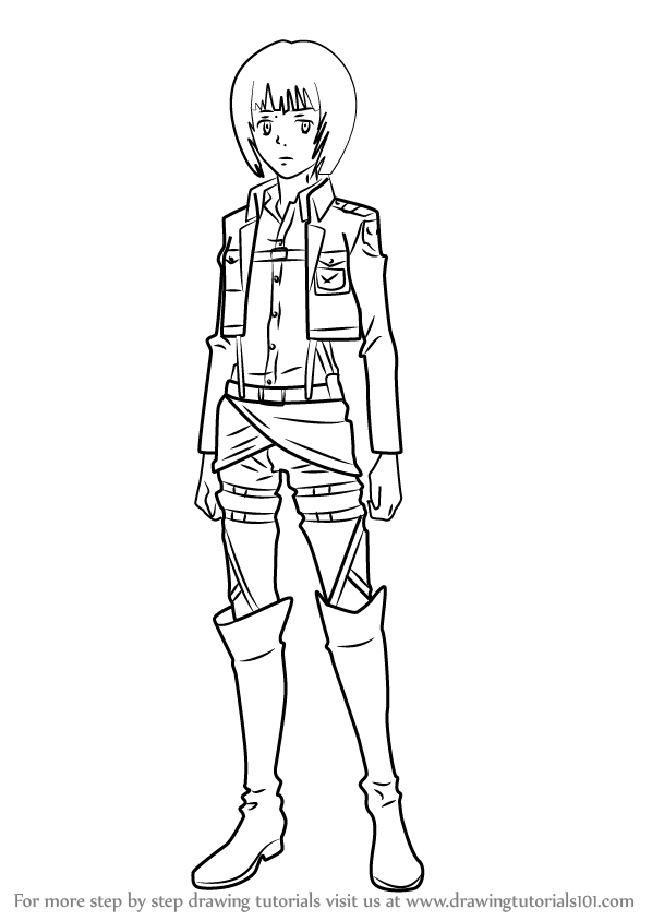 Learn How to Draw Armin Arlert