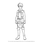 How to Draw Eren from Attack on Titan