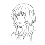 How to Draw Hitch Dreyse from Attack on Titan