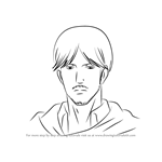 How to Draw Mike Zacharius from Attack on Titan