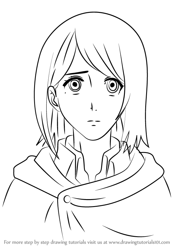 Attack On Titan Coloring Pages