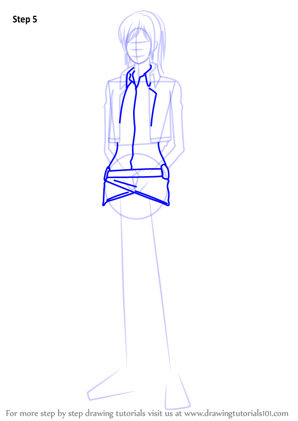 Learn How to Draw Sasha Blouse
