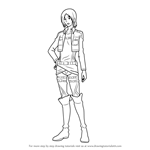 How to Draw Ymir from Attack on Titan