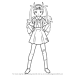 How to Draw Mayoi Hachikuji from Bakemonogatari