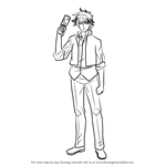 How to Draw Tatsumi Oga from Beelzebub