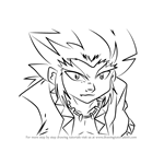 How to Draw Lee from Beyblade