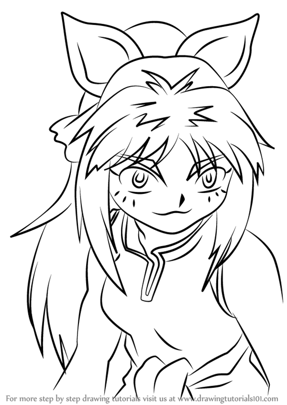 Learn How To Draw Mariah From Beyblade Beyblade Step By