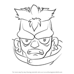 How to Draw Zomb from Beyblade