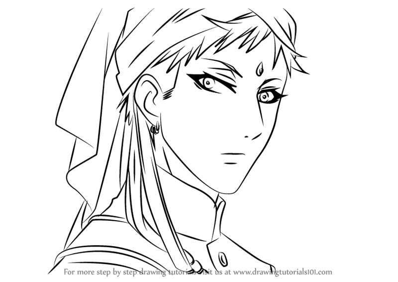 Learn How To Draw Agni From Black Butler Black Butler