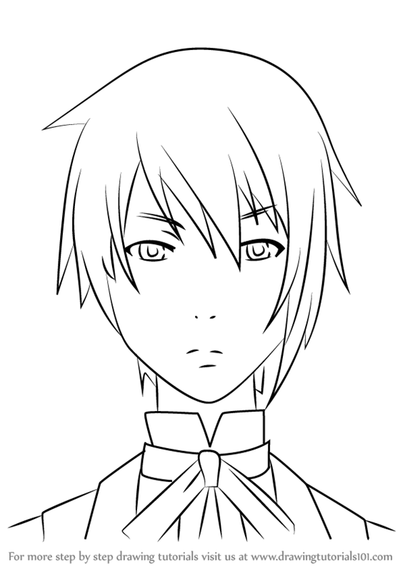 Learn How To Draw Canterbury From Black Butler Black