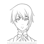 How to Draw Canterbury from Black Butler