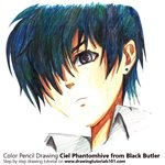 How to Draw Ciel Phantomhive from Black Butler