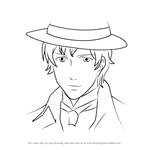 How to Draw Fred Abberline from Black Butler