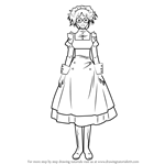How to Draw Mey-Rin from Black Butler