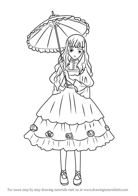 Learn How To Draw Queen Victoria From Black Butler Black Butler