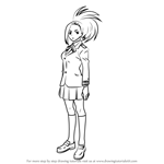 How to Draw Momo Yaoyorozu from Boku no Hero Academia
