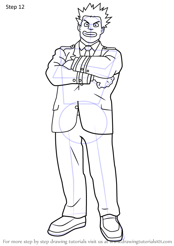 Learn How To Draw Rikido Sato From Boku No Hero Academia