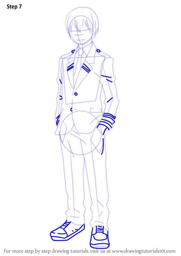 Learn How To Draw Shouto Todoroki From Boku No Hero Academia