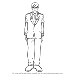 How to Draw Tenya Iida from Boku no Hero Academia