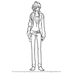 How to Draw Asahina Louis from Brothers Conflict