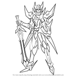 How to Draw Blaster Blade from Cardfight!! Vanguard
