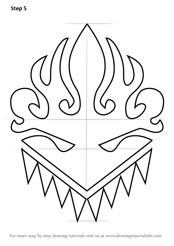 Learn How To Draw Kagero Logo From Cardfight Vanguard