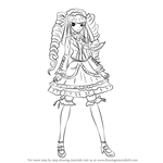 How to Draw Celestia Ludenberg from Danganronpa