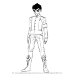 How to Draw Kiyotaka Ishimaru from Danganronpa
