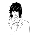 How to Draw Teru Mikami from Death Note