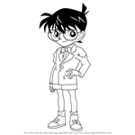How to Draw Conan Edogawa from Detective Conan