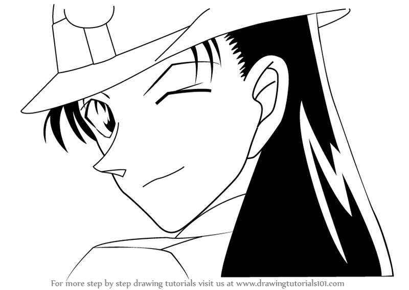 learn how to draw yumi miyamoto from detective conan detective conan step by step drawing tutorials
