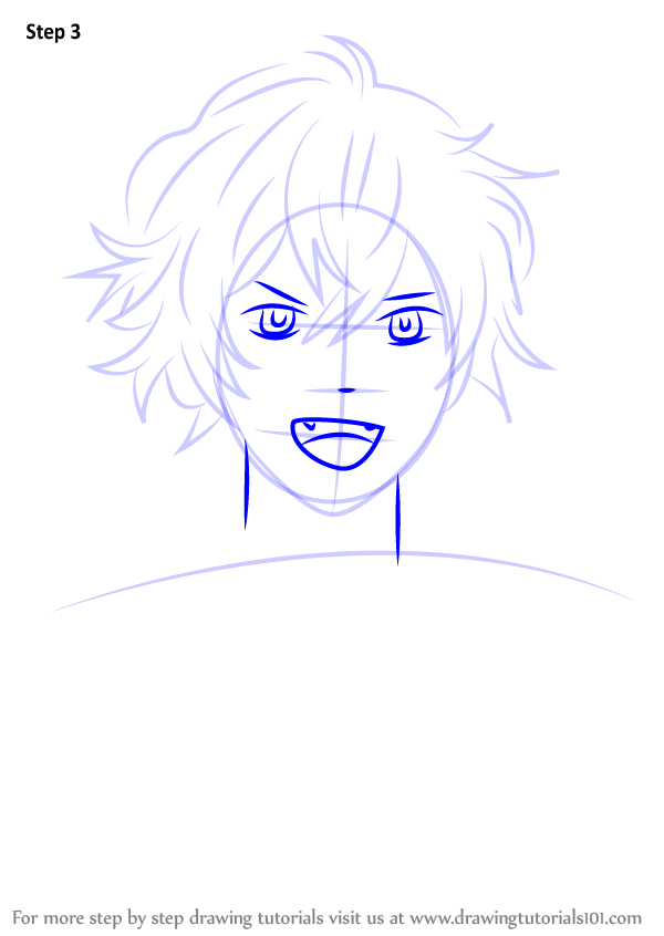 learn how to draw ayato sakamaki from diabolik lovers  diabolik lovers  step by step   drawing