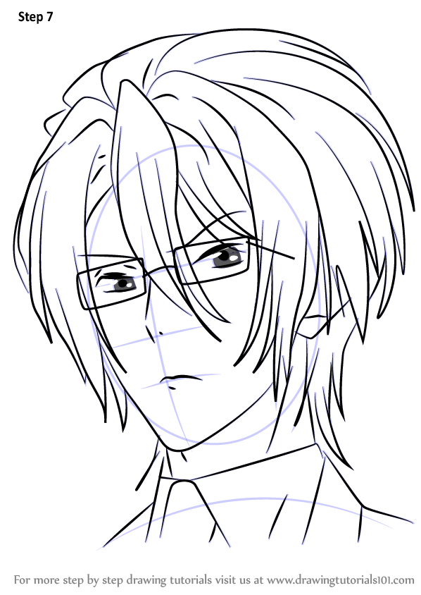 Step by Step How to Draw Reiji