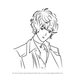 How to Draw Shu Sakamaki from Diabolik Lovers