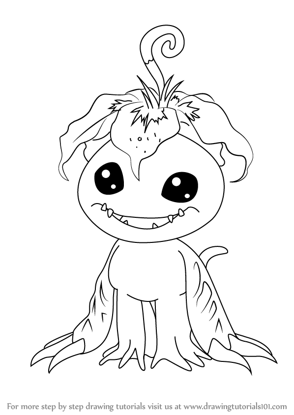 Learn How to Draw Palmon from Digimon