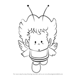 How to Draw Gatchan from Dr. Slump