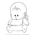 How to Draw Turbo Norimaki from Dr. Slump
