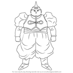 How to Draw Android 19 from Dragon Ball Z