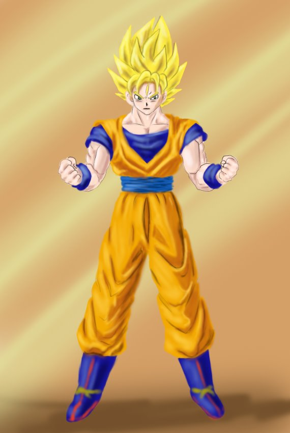 Dragon Ball Z Goku Super Saiyan Body