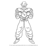 How to Draw Piccolo Daimao from Dragon Ball Z