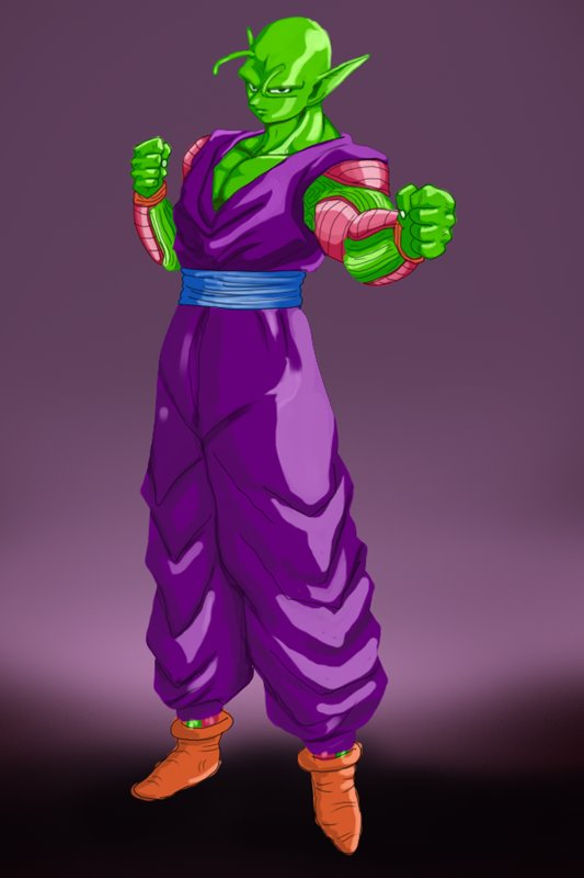 Learn How to Draw Piccolo from Dragon Ball Z (Dragon Ball