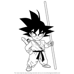 How to Draw Son Goku from Dragon Ball Z
