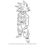 How to Draw Teen Gohan from Dragon Ball Z